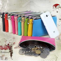 Promotional Coins Australia - Women's Leather Coin Purse Mini Pouch Change Wallet Promotional Small Purse Gift Wallet Free Shipping