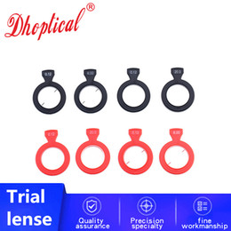 5pcs trial lens Optical Ophthalmic lenses for trial lenfor trial lens set CE quality 26MM low shipping by dhoptical on Sale