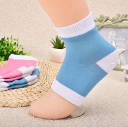 $enCountryForm.capitalKeyWord NZ - 1 pair Pro Gel Heel Socks Moisturing Spa Gel Socks Foot Dry Skin Protector Hot Selling High Quality Foot Treatment