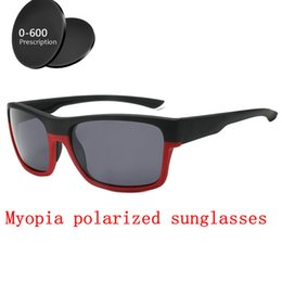 a24ef7adafd 2019 men women Custom Made Myopia Minus Prescription Polarized Lens Retro Double  beam Square sunglasses Driving goggles UV FML