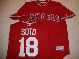 $enCountryForm.capitalKeyWord Australia - Cheap custom Anaheim GEOVANY SOTO Baseball JERSEY Red Stitch customize any number name MEN WOMEN YOUTH baseball jersey XS-5XL