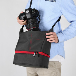 Dslr Cameras Bags Australia - Portable Photo Camera Slr Waterproof Bag Travel Shoulder Bags Dslr Photographic Case Fab Women Bag