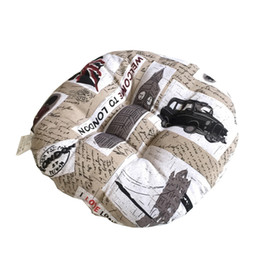 $enCountryForm.capitalKeyWord NZ - Vintage Letter Printed Linen Cotton Cushion Case Polyester Home Decoration Bedroom Decoration Sofa Car Cushion *