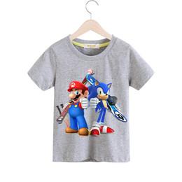 $enCountryForm.capitalKeyWord UK - 1-13Y Kids Summer Tshirts Costume Boys Cartoon Mario Short Sleeve Tees Top Clothes Children Spring T-shirts Clothing Baby