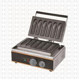 $enCountryForm.capitalKeyWord Australia - Electric 110v 220v Corn Lolly Waffle Maker Hot Dog Waffle Stick 6 Pcs Plate Corn Waffle Rench Muffin Maker
