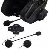 Bluetooth casque mains libres avec microphone casque longue veille Pour Casque de moto USB portable sans fil de charge équitation en Solde