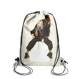 $enCountryForm.capitalKeyWord UK - Sports backpack Billie Eilish fashion cute Classicpackage durable limited edition Bundle pullstring Travel Beach pull string Bundle backpack