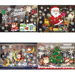 $enCountryForm.capitalKeyWord Australia - Santa Claus Elk Christmas Tree Pattern Wall Window Stickers Home Decor Fashion Christmas Wall Stickers