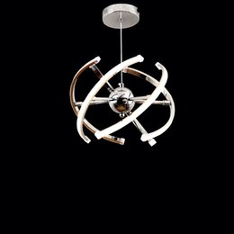 $enCountryForm.capitalKeyWord Australia - LED Pendant Lamp Loft Hanging Light 40W DIY Kitchen Suspension Acrylic Dining room Foyer Lustre AC85-265V Fixture Dia32 40cm