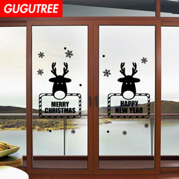 $enCountryForm.capitalKeyWord Australia - Decorate Home merry christmas new year art wall sticker decoration Decals mural painting Removable Decor Wallpaper G-1215