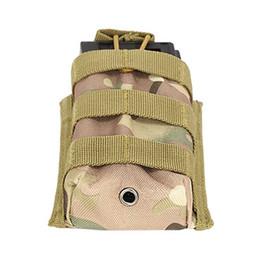 $enCountryForm.capitalKeyWord Australia - Outdoor Camping Travel Hiking Pouch Tactical Single Rifle Magazine Open Top Hunting Radio Interphone Bag Mini Flashlight Bag #319841