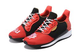 2019 pharrell williams nmd human race Running Shoes Originals Hu trail  SolarHu CNY Rainbow Primeknit ST Cream Core PW Sports sneakers 3ea203d79