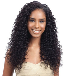 hairstyles hair NZ - Unprocessed Indian Kinky Curly Hairstyle 360 Human Hair Lace Wig With Babyhair 8-24 inch Free Shipping