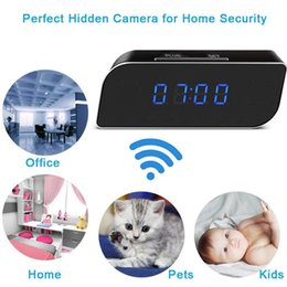 $enCountryForm.capitalKeyWord Australia - Hot 1080P Wireless Camera Alarm Clock Motion Detection Nanny DVR Night Vision for Home Security PLD