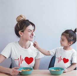 mom son clothes NZ - Family Tshirts Girls Boys Mom Mother Mommy and Daughter Son Family T-shirt Family Look Matching T-shirt Mom Mommy and Me Clothes#lia