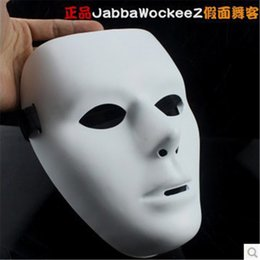 $enCountryForm.capitalKeyWord Australia - 1pc Hip-Hop GHOST DANCE Mask White Popping Face Masque Halloween Party Carnivals Adjustable Strap Mask For Man and Women MI7