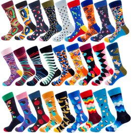 06c8dbce64 Over knee high sOcks mens online shopping - 2019 Newly High Quality Mens  Happy Socks Colors