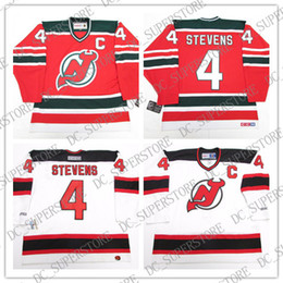 44f147c6c Cheap custom SCOTT STEVENS NEW JERSEY DEVILS WHITE VINTAGE CCM HOCKEY JERSEY  Mens Personalized stitching jerseys