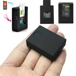audio bugging Australia - NEW N9 MINI GSM Cam AUDIO LISTENING BUG 2x SENSITIVE MICROPHONE Ear Bug Device
