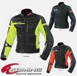 $enCountryForm.capitalKeyWord Australia - KOMINE JK044 high-performance motocross jacket drop resistance clothing racing suits motorcycle jacket green black orange