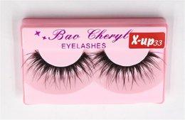 $enCountryForm.capitalKeyWord Australia - 100pair Bao Cheryl Supernatural Lifelike Handmade False Eyelash 3D Strip Lashes Thick Fake Faux Eyelashes Makeup Beauty Supplies