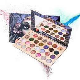 $enCountryForm.capitalKeyWord UK - 2019 New Style Eye shadow 28 Colors Shimmer Matte Glitter Powder Sequins Magic Code For Your Eyes