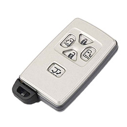 Key Shell Case Toyota Australia - 1Pcs Replacement Case 5Button Smart Key Fob Shell For Toyota Reiz Avalon Previa Alphard Prius