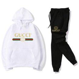 Ingrosso 2019 Brand Designer Leisure suit uomo e donna Inverno new fashion Sports suit Abbigliamento di alta qualità # 022