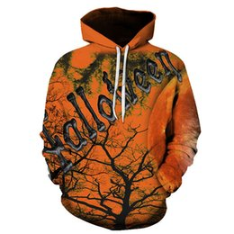 7e5ddd2bf7c3 2019 Flowers Skull 3d Skeleton Bird Print Hoodies Halloween Costumes For  Women men Loose Fitness Hooded Sweatshirts