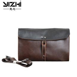 $enCountryForm.capitalKeyWord Australia - YIZHI 2018 Business Men's Briefcase Built-in Phone Bag High Quality PU Leather Shoulder Bags Computer