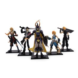 Fantasy action Figures online shopping - Final Fantasy Action Figures Japanese Anime Toys Fans Gifts Pes Per Suit Various Styles dj F1