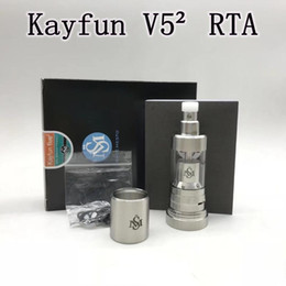 v5 atomizer clone 2019 - Smokevape Kayfun V5² RTA Replaceable Tank Atomizers Single coil Easy to build Airflow control Top filling system PEEK in