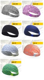 sport hairbands Australia - Non-slip U&A Brand Athletic Head Band Elastic Hairbands Women Girls Ladies Yoga Sports Headwrap Sweaty Hair Bandana Hair Accessories C110401
