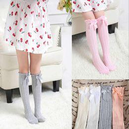 3a8865d04b0b Soft Cotton Kawaii Girls Boys Sock Bow Princess Kids Socks Newborn Toddler Baby  Long Socks New Girls Tube Socks Child Leg Warm