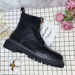 $enCountryForm.capitalKeyWord Australia - 2019 Designer Luxury Fashion womens Ladies PATCHWORK TWOTONE REAL LEATHER Lace Up Rubber sole Rock Punk Goth MOTORCYCLE BIKER short boots