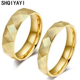 e12b4997d1 SHQIYAYI Fashion Jewelry Love Wedding Bands Rings for Women Man Stainless  Steel Alliance Promise Cherish Anniversary Gifts 011