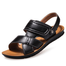f5a2f7de94f9 Summer Men Sandals Breathable Roman Men Casual Shoe Male Shoes Slip On  Comfortable Flats Gladiator Outdoor Beach Shoes