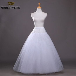 $enCountryForm.capitalKeyWord Australia - NOBLE WEISS 2019 Hot Tulle Underskirt Slip Wedding Accessories Chemise Without Hoops For Wedding Dress Petticoat