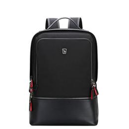 $enCountryForm.capitalKeyWord UK - Oiwas Adjustable Men Women Nylon Backpack Casual Solid Color Business Bag Travel School Notebook Bag Black Best Gift