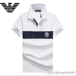 $enCountryForm.capitalKeyWord Australia - Short sleeve T-shirt men's cotton casual lapel T-shirt POLO shirt British half sleeve T-shirt men's wear