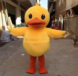 $enCountryForm.capitalKeyWord Australia - 2019 High quality Adorable Big Yellow Rubber Duck Mascot Costume Cartoon Performing Adult Size