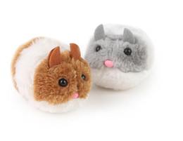 $enCountryForm.capitalKeyWord UK - Plush Toys Vibrate a little fat mouse and vibrate Cat Action Figures Doll Soft Stuffed Animal Toys Stash Llama cartoon Stuffed doll