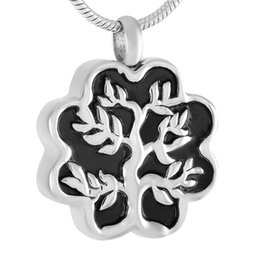 Discount memorial trees - Stainless Steel Memorial Urn Jewelry Keepsake Pendant For Women Men + Fill Kits Tree Cremation Necklace For Ashes - 316L