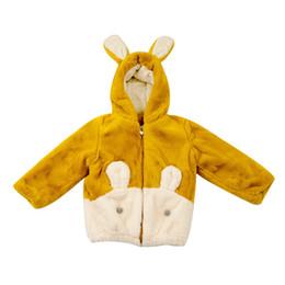 $enCountryForm.capitalKeyWord Australia - Winter Fashion Thicken Cotton Warm Child Coat Cartoon Rabbit Baby Girls Jackets Patchwork Children Outerwear For 3-14 Years Old