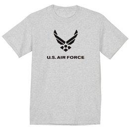 Tall Tee Men Canada - big and tall t-shirt US Air Force wings usaf t-shirt tall tee men's tshirt 2018 New Short Sleeve, Men T Shirt 100% Cotton, Family Top Tee
