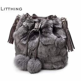 $enCountryForm.capitalKeyWord Australia - Fashion Women Shoulder Bag Black Ladies Crossbody Bag Plush Leopard Print Faux Fur Hairy Female Tote Bags For Women 2018 J190513