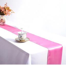 $enCountryForm.capitalKeyWord Australia - 30*275CM Michelin-starred Restaurant Satin Table Runner Wedding Party Table Cloth Christmas Halloween Dinner Table Cloth Hotel Supplies