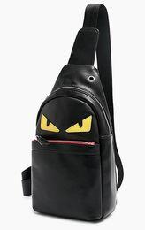 Halloween Packs Australia - New men oxford eye Crossbody messenger designer bags chest pack mens fashion travel casual phone bust purses black Coffee black Yellow