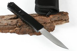 $enCountryForm.capitalKeyWord NZ - On Sale! Butterfly Auto Tactical Knife 440C Drop Point Satin Blade Alloy Handle Outdoor Survival Rescue Knives EDC Gear