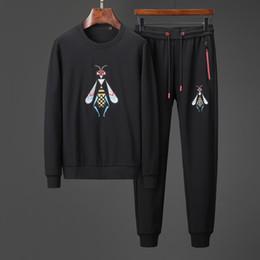 Best sportswear online shopping - Designer sportswear men s best version spring and autumn men s sportswear printed suit jacket pants men s luxury casual sweatshirt sports